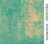 green beige grunge background | Shutterstock . vector #1042419301