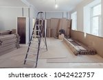 interior of apartment  during... | Shutterstock . vector #1042422757