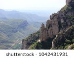 rocks around montserrat... | Shutterstock . vector #1042431931