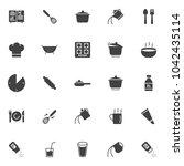 cooking instructions vector...   Shutterstock .eps vector #1042435114