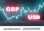 forex candlestick pattern.... | Shutterstock . vector #1042449085