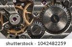 Clockwork Old Mechanical Watch High - Fine Art prints