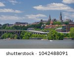 washington dc   georgetown and... | Shutterstock . vector #1042488091