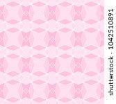 ancient geometric pattern in... | Shutterstock . vector #1042510891