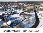 aerial view of the church of... | Shutterstock . vector #1042523665