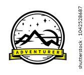 adventurer inspirational... | Shutterstock .eps vector #1042528687