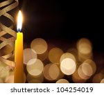 Candle Romantic Background