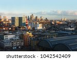 high view of the city of london ... | Shutterstock . vector #1042542409