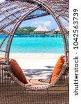 bora bora island  french... | Shutterstock . vector #1042563739