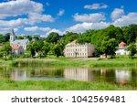 krosno odrzanskie  lubusz... | Shutterstock . vector #1042569481
