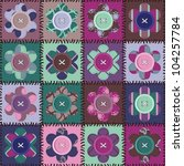 Patchwork Background With...