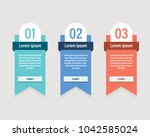 pricing table template vector... | Shutterstock .eps vector #1042585024