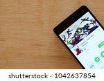 bekasi  west java  indonesia.... | Shutterstock . vector #1042637854