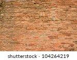 background of brick wall texture | Shutterstock . vector #104264219