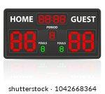 basketball sports digital...   Shutterstock .eps vector #1042668364