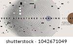 quantum computing  deep... | Shutterstock .eps vector #1042671049