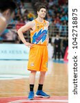 Small photo of Mar.10, 2018 - Beijing, China: Jimmer Fredette during a CBA playoff game between Beijing Ducks and Shanghai Bilibili on March 10, 2018, in Beijing, China.