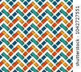 chevron diagonal stripes... | Shutterstock .eps vector #1042727551