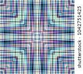 seamless background. geometric...   Shutterstock .eps vector #1042751425