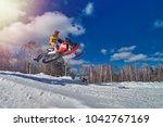 Extreme Sport Race Snowmobiles...