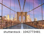 new york  new york on the... | Shutterstock . vector #1042773481