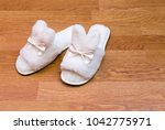 top view of a pair of new soft... | Shutterstock . vector #1042775971