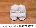 top view of a pair of new soft... | Shutterstock . vector #1042775977