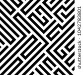 abstract vector background... | Shutterstock .eps vector #1042783801