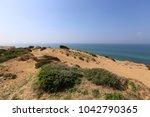 coast of the mediterranean sea... | Shutterstock . vector #1042790365