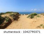 coast of the mediterranean sea... | Shutterstock . vector #1042790371