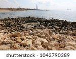 coast of the mediterranean sea... | Shutterstock . vector #1042790389