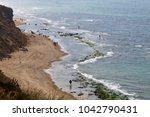 coast of the mediterranean sea... | Shutterstock . vector #1042790431