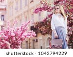 outdoor portrait of young... | Shutterstock . vector #1042794229