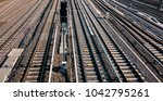 high angle view on multiple... | Shutterstock . vector #1042795261
