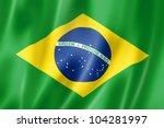 Brazil Flag  Three Dimensional...
