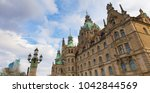 Stock photo new town hall hannover germany 1042844569