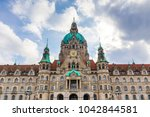 Stock photo new town hall hannover germany 1042844581