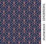 geometric vector seamless...   Shutterstock .eps vector #1042850341