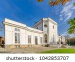 jablonna  masovia province  ... | Shutterstock . vector #1042853707