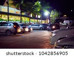 parking in the mall in koh... | Shutterstock . vector #1042856905