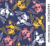 Dark Seamless Pattern With Kar...