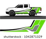 truck graphic background kit... | Shutterstock .eps vector #1042871329