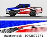 truck graphic background kit...   Shutterstock .eps vector #1042871371