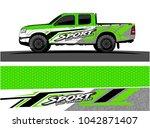 truck graphic background kit...   Shutterstock .eps vector #1042871407