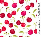 vector seamless pattern with... | Shutterstock .eps vector #1042872265