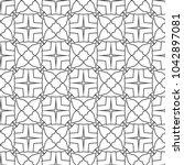 geometric ornamental vector...   Shutterstock .eps vector #1042897081