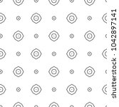 geometric ornamental vector... | Shutterstock .eps vector #1042897141