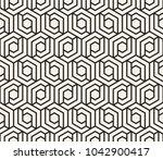 vector seamless pattern. modern ... | Shutterstock .eps vector #1042900417