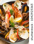 Small photo of Delicious seafood hotpot dishes