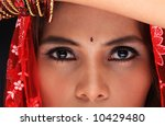 close up of a young woman's... | Shutterstock . vector #10429480